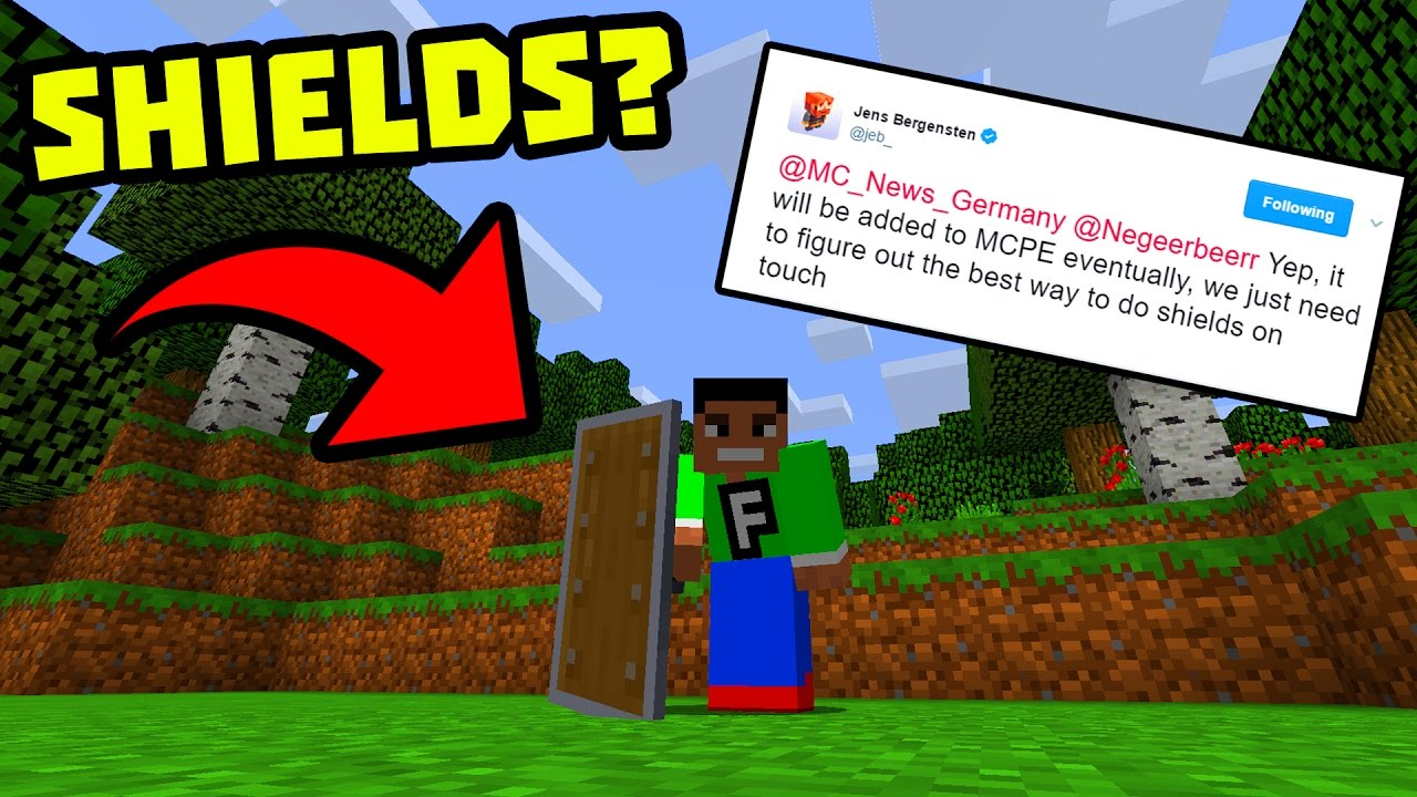 SHIELDS COMING TO MCPE??! - News Discussion - Minecraft ...