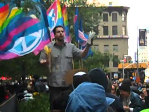 Christian Preaching at Occupy Wall St 10 15 11