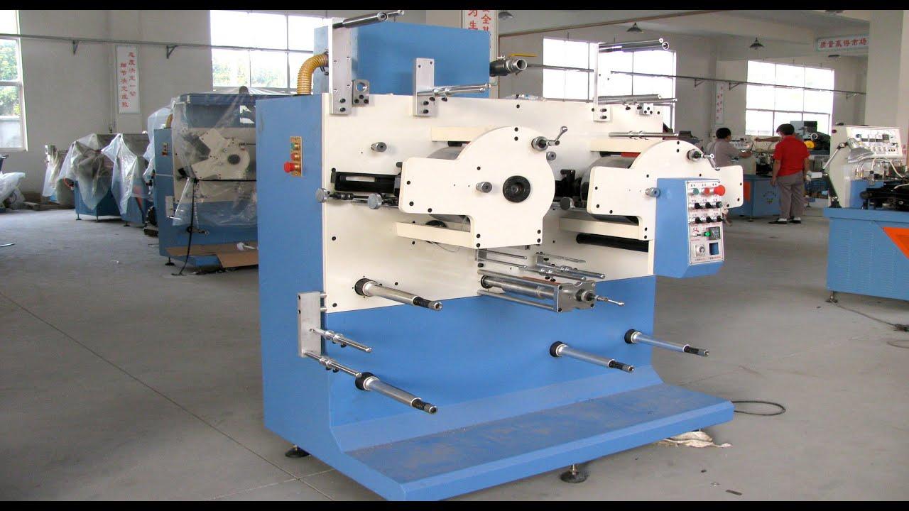 6 2 Color Flexo Label Printing Machine Youtube