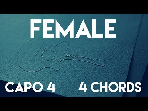 How To Play Female by Keith Urban | Capo 4 (4 Chords) Guitar Lesson