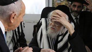 Rav Elyashiv To Shimon Peres: Its Forbidden To Ascend Har Habayis