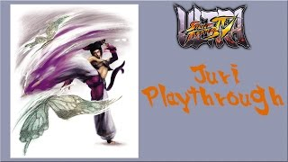 Ultra Street Fighter IV - Juri Arcade Mode Playthrough (Evil Ryu Boss Battle)