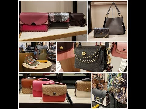 Browse With Me At The Coach Boutique: NEW FLOOR SET!