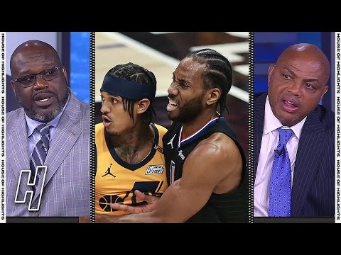 Inside the NBA Reacts to Jazz vs Clippers Game 4 Highlights | 2021 NBA Playoffs