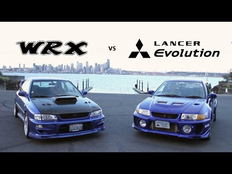 Friendly Rivalry:  Mitsubishi Evo vs Subaru WRX || Tuner Tribune