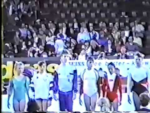 1989 World Gymnastics Championships - Women's Compulsories, Session 3