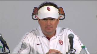 Classic Bob Stoops Postgame