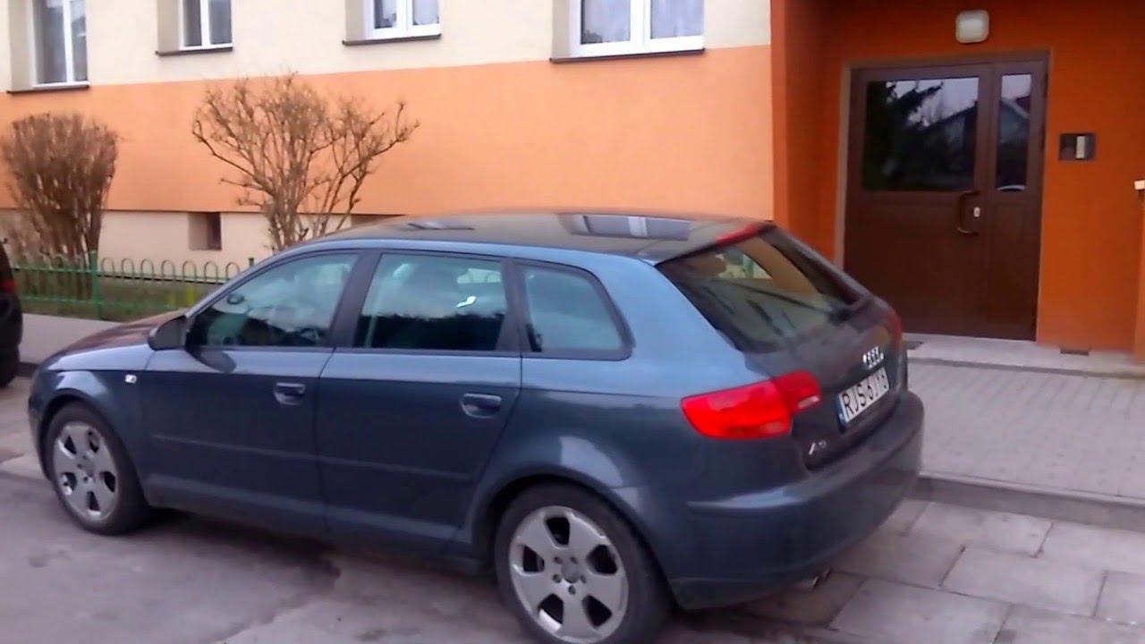 Audi A3 8p Automatycznie Otwieranie Klapy Z Pilota Youtube