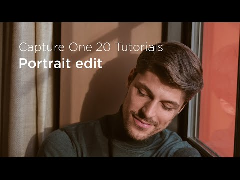 Capture One 20 Tutorials | Portrait edit thumbnail