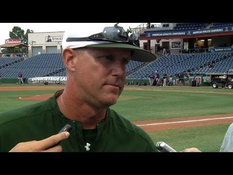 USF Baseball: Coach Kingston, Duke Stunkel Jr. Post Game Quotes (5-23-17)