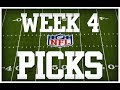 WEEK 4 NFL SCORES AND RESULTS!!