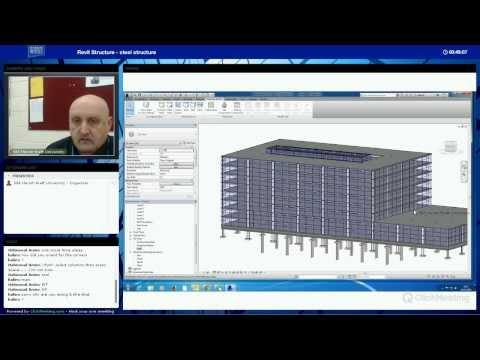 Revit Structure Steel Structure Part 1