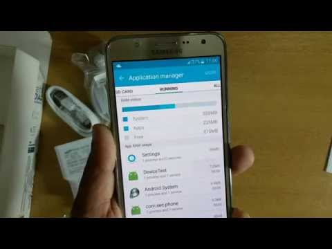 Samsung Galaxy J7 RAM Usage and Memory Usage | Mobile Phone Tutorial | Unboxing | Review |J7 Testing