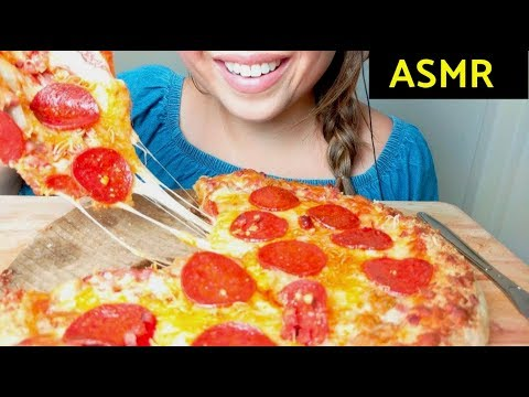 *No Talking* ASMR 🍕Pepperoni PIZZA 🍕+ Ranch 먹방 Eating Sounds thumbnail
