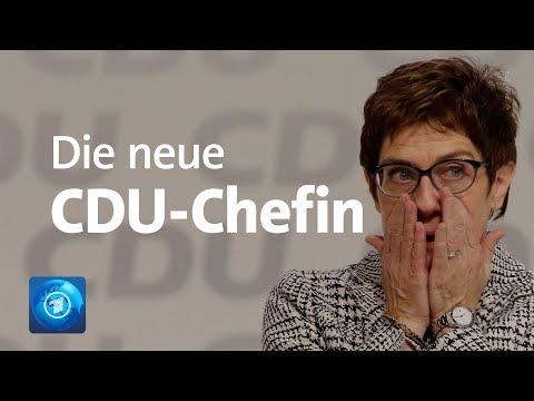 Kramp-Karrenbauer ist neue CDU-Chefin