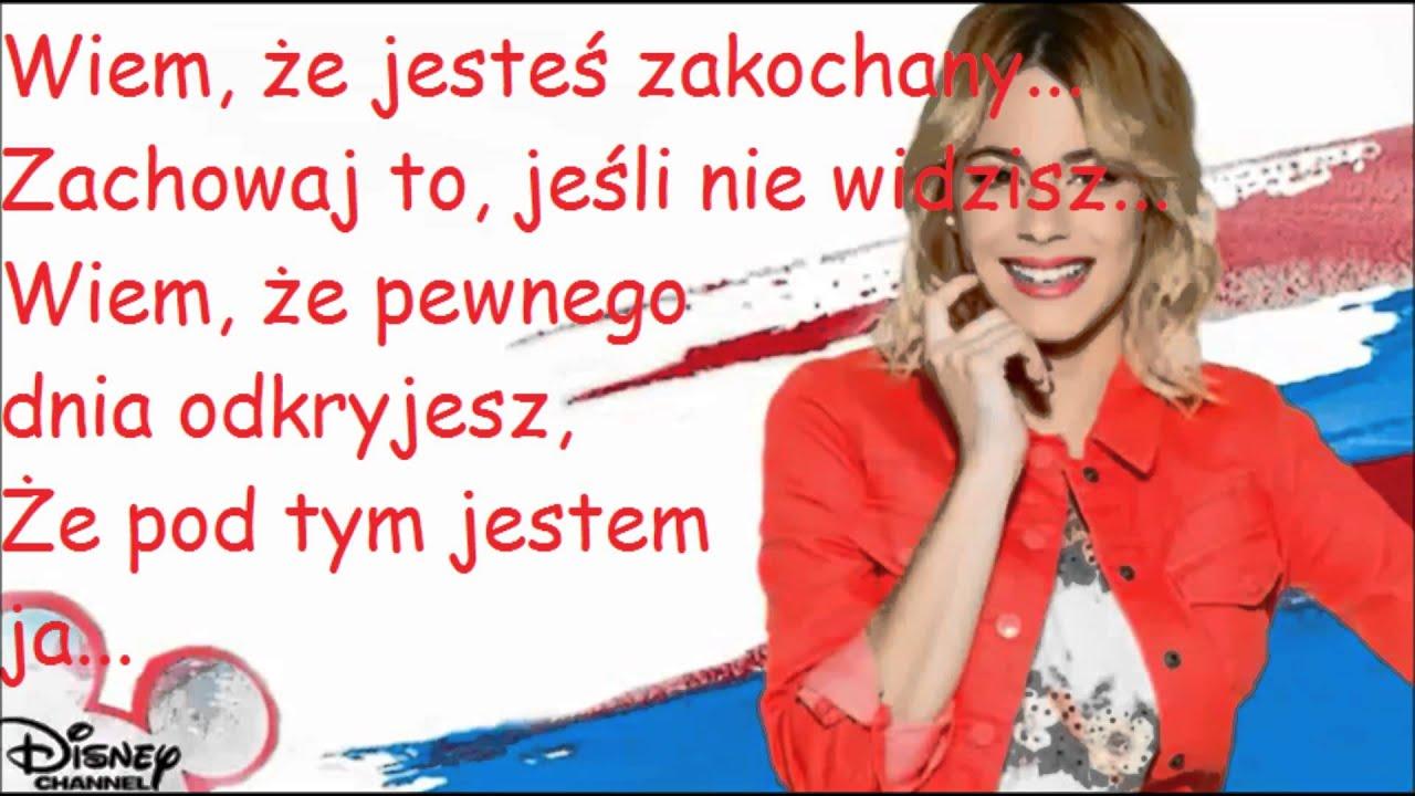 Violetta underneath it all po polsku youtube for Farcical po polsku