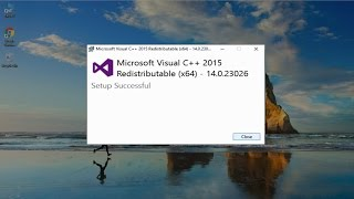 How to  Uninstall Existing Microsoft Visual C++ 2015/2013/2012/2010 Redistributable Packages