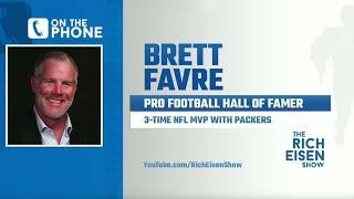 Brett Favre Talks Packers Draft Impact On Aaron Rodgers, Elway & More W/ Rich Eisen | Full Interview