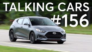 Memories from the Road; 2019 Hyundai Veloster   Talking Cars with Consumer Reports #156