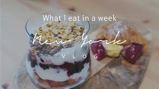일주일동안 먹은 것들 WHAT I EAT IN A WE…