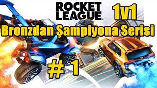 Rocket League Bronzdan Şampiyona Öğretici 1v1 1