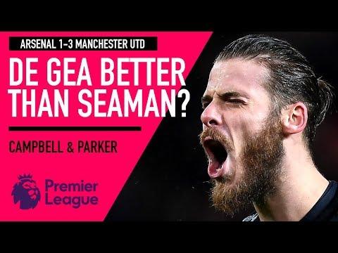 De Gea better than Schmeichel and Seaman?   Arsenal 1-3 Man Utd   Astro SuperSport