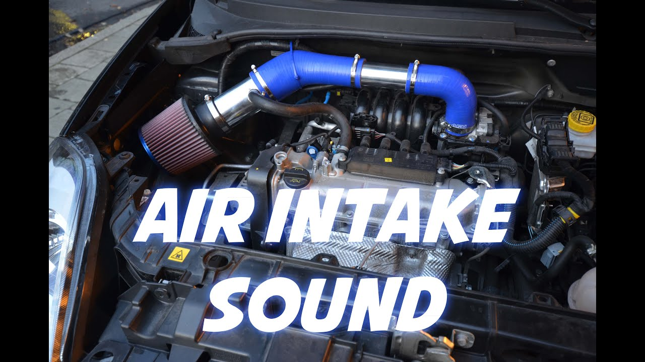 Air Intake Sound K Amp N Rr 3002 Fiat Punto Youtube