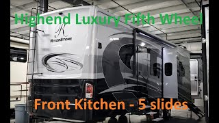 2019 Riverstone 39FK by Forestriver at Couch's RV Nation a RV Wholesaler
