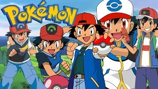 WSZYSTKIE WCIELENIA ASHA - Pokemon Fire Ash #112 [KONIEC SERII]