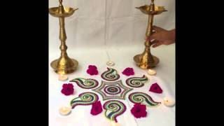 Designer Kundan Rangoli now available in Malaysia brought to you by www.frombombay.com