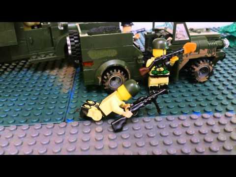 видео: Лего Вторая мировая война, 1942 год 12 августа\ Lego World War II, 1942 on August 12