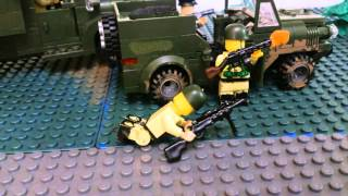 Лего Вторая мировая война, 1942 год 12 августа\ Lego World War II, 1942 on August 12