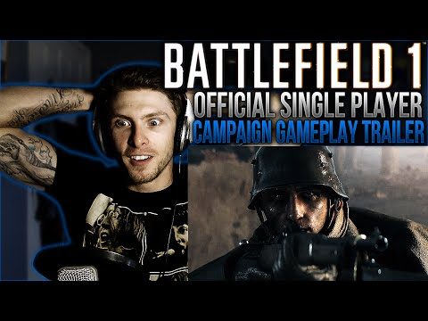 vapor-reacts-#63-|-battlefield-1-official-single-player-campaign-gameplay-trailer-reaction!!---omg!!