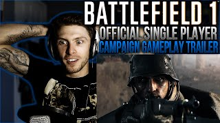 vapor reacts 63   battlefield 1 official single player campaign gameplay trailer reaction omg
