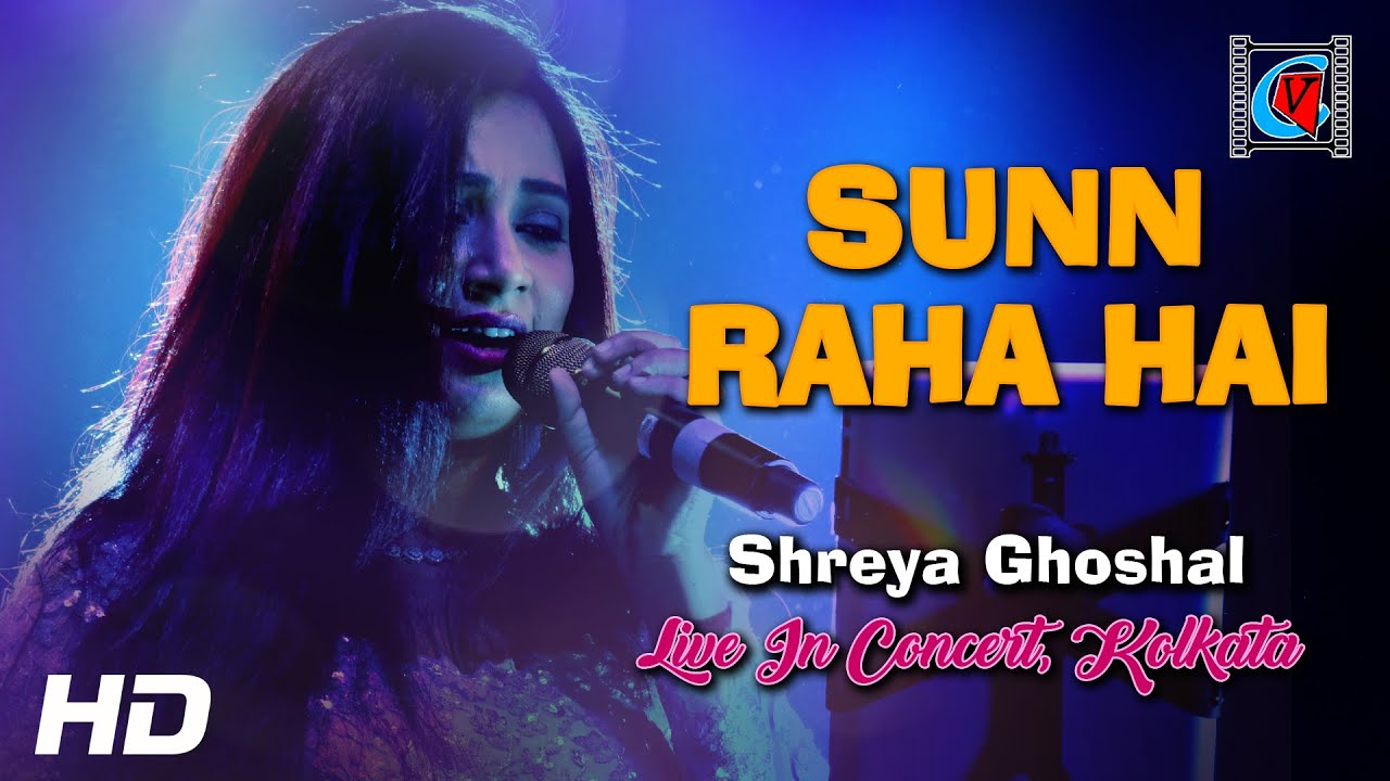 Download Sun Raha Hai Na Tu - Aashiqui 2   Female Version By Shreya Ghoshal   Live In Concert   Kolkata