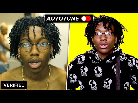 GENIUS INTERVIEWS vs REAL SONGS | PART 3 (AUTOTUNE vs. NO AUTOTUNE)
