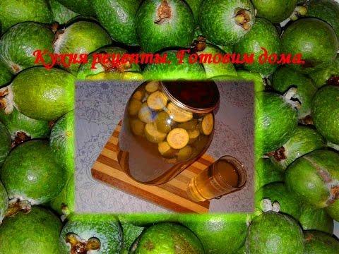 Компот из фейхоа - новый рецепт / Feijoa compote - a new recipe