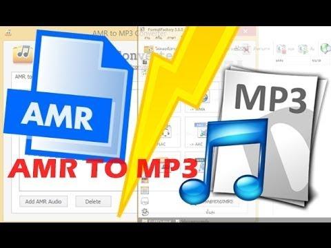 วิธีแปลงไฟล์ AMR เป็น MP3   How to Convert AMR to MP3