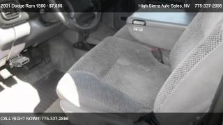 2001 Dodge Ram 1500 Quad Cab Short Bed 4WD - for sale in Reno, NV 89502