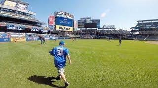 Taking batting practice at Citi Field (Part 2)