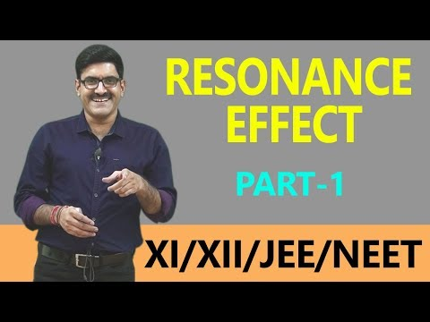 Resonance Effect Part-1_Gen. Organic Chemistry for XI | XII | JEE-Main | JEE-Advance