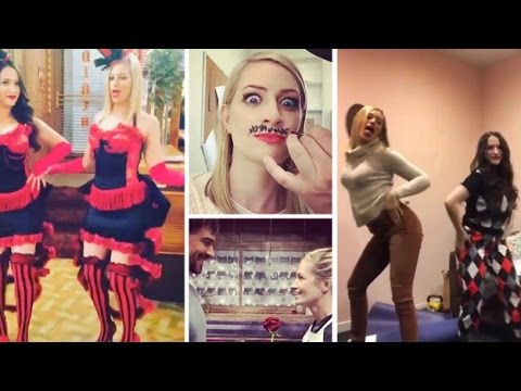 Beth Behrs  Backstage  Funny Moments