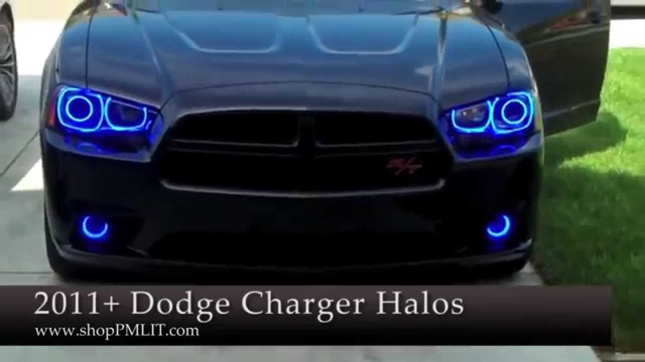 Oracle Dodge Charger 11 14 Headlight Halo Kit By Shoppmlit