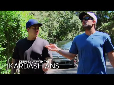 KUWTK  Brody Jenner Has a HearttoHeart With Rob  E!