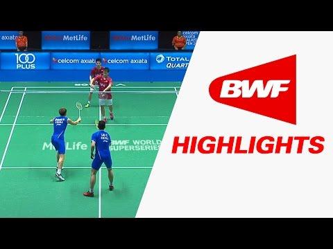 Celcom Axiata Malaysia Open 2017 | Badminton R16 – Highlights