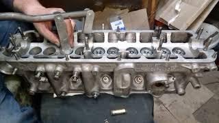 Как установить клапан ГБЦ Audi 100