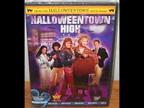 opening to halloweentown high 2005 dvd