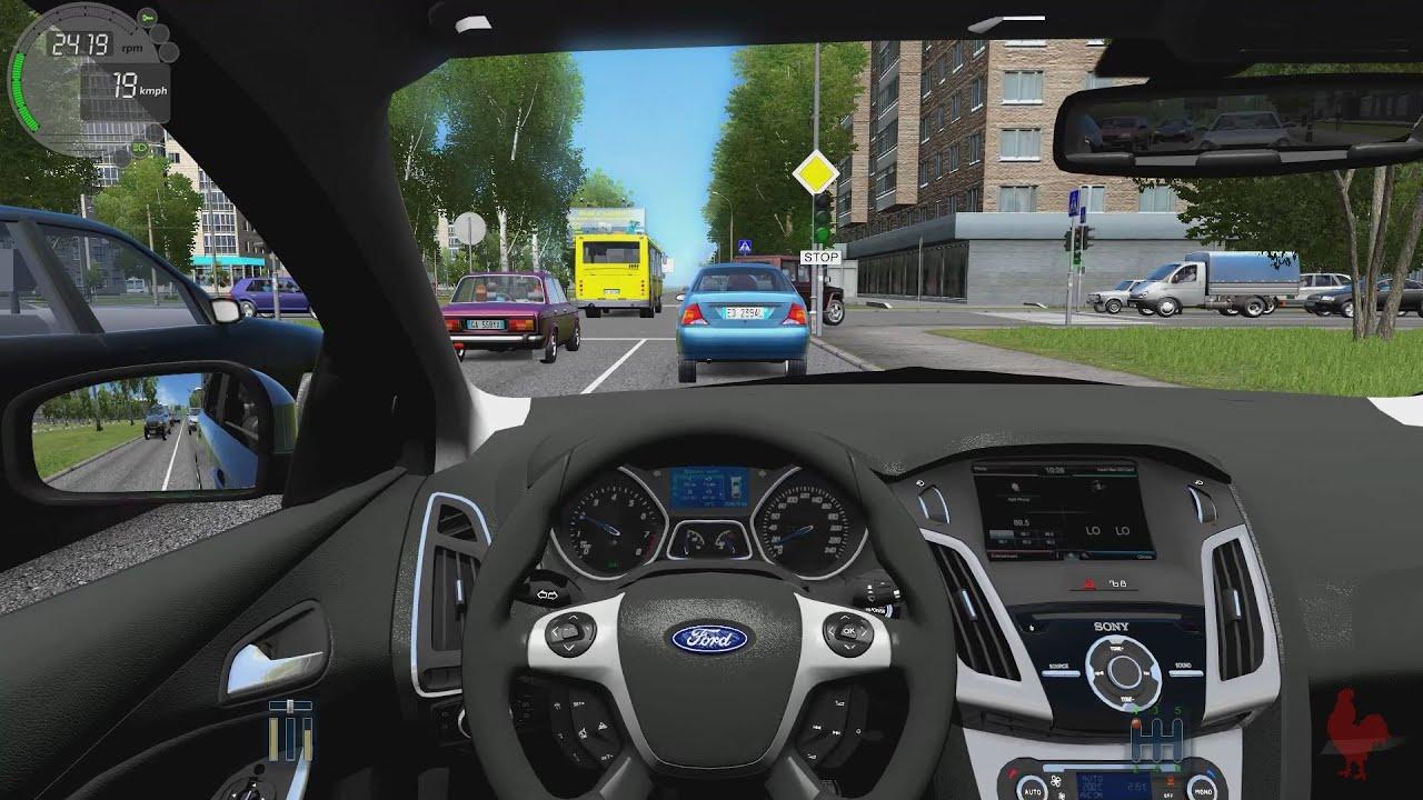 City Car Driving Ford Focus 3 Sedan Youtube