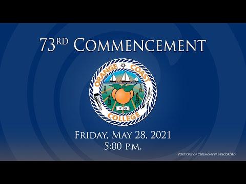 73rd Commencement Ceremony | Orange Coast College