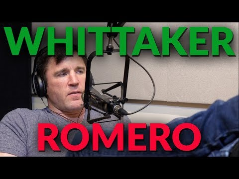 Chael Sonnen talks Robert Whittaker vs Yoel Romero